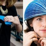 Zložljiva čelada iz papirja EcoHelmet