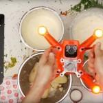 Kuhanje z dronom