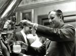 Gagarin v pivovarni Carlsberg leta 1962
