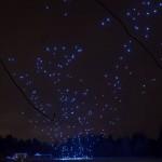 Intel poskrbel za svetlobni šov s 500 droni
