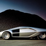 Maserati Boomerang in Dome - 1972