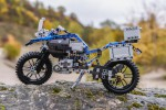 Replika motocikla BMW R 1200 GS Adventure iz kock Lego Technic