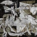 Guernica iz poslikanih teles