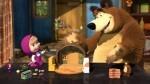 Zimska pravljica za otroke: Maša in Medved na ledu
