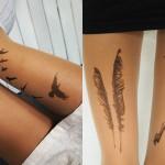 Najlonke z motivi tatujev