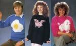 Obupni puloverji iz osemdesetih