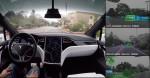 Teslina vožnja skozi oči vozila