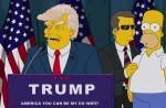 Donald Trump ko predsednik v epizodi risane TV-serije Simpsonovi.