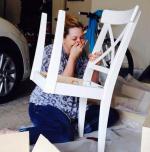 Ljudje, ki jim sestavljanje pohištva Ikea ni šlo najbolje od rok.