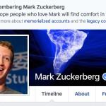 Facebook misli, da smo vsi mrtvi.
