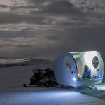 Počitniške sani Aurora Bubble Sled