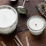 Doma narejena dišeča sveča