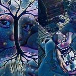 Drevo življenja - edinstveni selfiji posneti med dojenjem