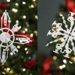 Snežinke iz papirja