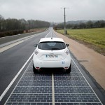 Prva solarna cesta na svetu.
