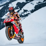 Marc Marquez je svoj motocikel pripeljal na znameniti Streif.