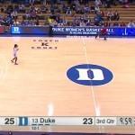 Košarkarice Duka pokrivale napačno stran igrišča