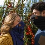 Wair - šal, ki je tudi dihalna maska
