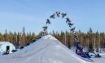 Daniel Bodin - dvojni salto nazaj na motornih saneh
