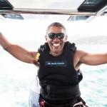 Barack Obama v pokoju