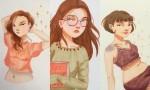 Ilustracije deklet