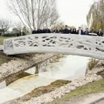 Most, narejen s pomočjo 3D-tiskalnika