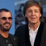 Paul McCartney in Ringo Starr
