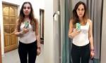 V istih oblačilih je posnela selfija v 11 različnih slačilnicah.