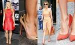 preveliki čevlji s peto