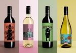 Jean Jullien – Majestic Wine: namesto vsebine na etiketi občutki, ki jih pričara vino