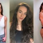 Fitnes blogerka Morgan Mikenas