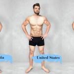 Kakšno je popolno moško telo v različnih delih sveta?