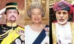 najbogatejši monarhi na svetu