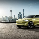 Škoda Vision E Coupe Crossover Concept