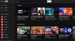 YouTube v črni barvi