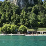 Naravno kopališče Grajsko kopališče na Bledu