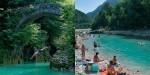 naravna kopališča v sloveniji naravno kopališče na reki nadiži