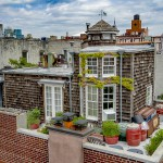 Hiška na strehi v New Yorku