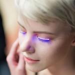 f.lashes: interaktivne LED-trepalnice