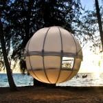 Cocoon Tree: kampiranje nad tlemi
