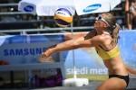CEV Beach Volleyball turnir 2017: odbojka na mivki in plaža sredi mesta