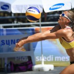 CEV Beach Volleyball turnir 2017: odbojka na mivki in plaža sredi mesta