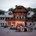 Kavarna in restavracija Švicarija: raj v Tivoliju