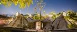 Retro-futuristična hiša v Indiji