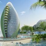 Spiralni eko-resort na Filipinih