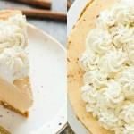 bučni cheesecake brez peke