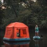Shoal Tent – plavajoči šotor