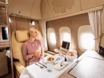 Letenje v prvem razredu po standardih Emirates