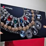 CES 2018: LG zaoral ledino s televizorjem OLED 8K