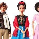 Mattel z novimi barbikami v podobi zgodovinskih osebnosti